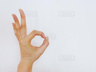 OKポーズの写真・画像素材[734366]