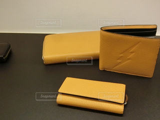 黄色い財布の写真・画像素材[739780]