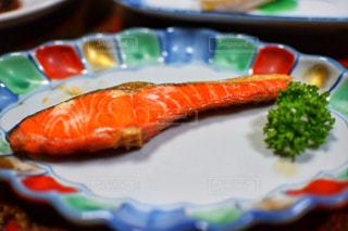 焼き魚料理の写真・画像素材[757048]