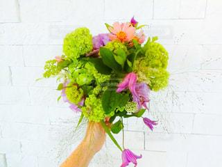 ピンクの花の花束の写真・画像素材[798941]