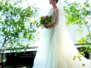 結婚式ドレスの写真・画像素材[965642]