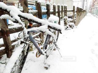 雪の山の写真・画像素材[971405]