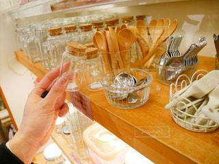 食品の完全なテーブルの写真・画像素材[982420]