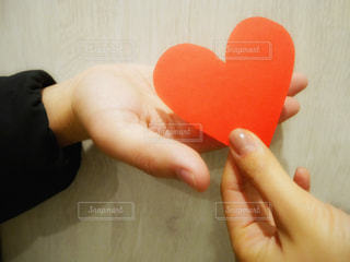 気持ちを贈るバレンタインデーの写真・画像素材[991088]