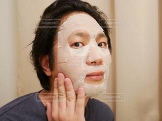 フェイスマスクの写真・画像素材[994361]