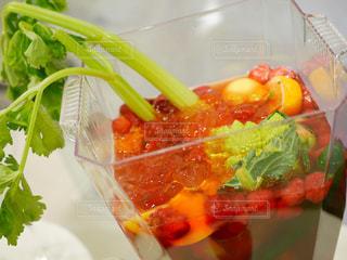 食品のプラスチック容器 - No.1009722
