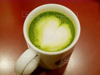抹茶のカップの写真・画像素材[1013039]