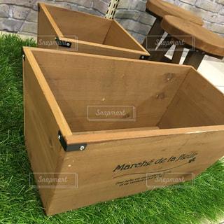 木製の箱の写真・画像素材[1127269]