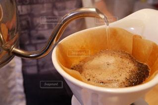 一杯のコーヒーの写真・画像素材[1239338]