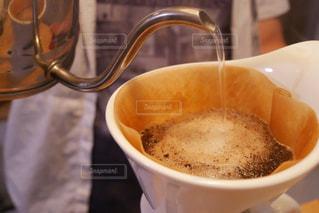 一杯のコーヒーの写真・画像素材[1239339]