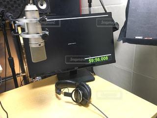 録音するレコーディングスタジオの写真・画像素材[1254773]