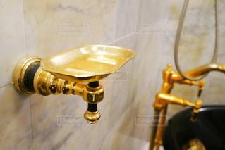 豪華な色合いのお風呂場の写真・画像素材[1347521]