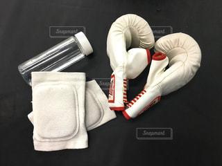 キックボクシングジムでの持ち物の写真・画像素材[1363541]