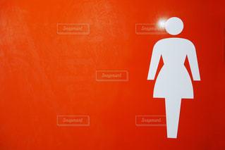 近くにある女性用トイレの写真・画像素材[1517866]