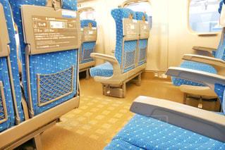 東海道線新幹線内の座席の写真・画像素材[1542807]