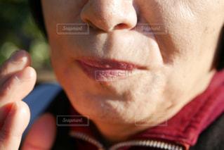 シワがある高齢の女性の写真・画像素材[2245580]