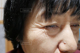 口を開けた人のクローズアップの写真・画像素材[2900718]