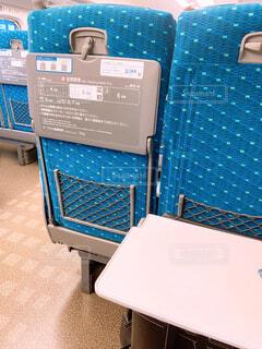 新幹線の席の写真・画像素材[4245405]