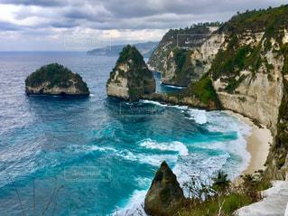 撮影地→バリ、ヌサペニダ島Pantai Atuh(アトゥ・ビーチ)の写真・画像素材[1247874]