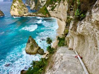 撮影地→バリ、ヌサペニダ島Pantai Atuh(アトゥ・ビーチ)の写真・画像素材[1247876]