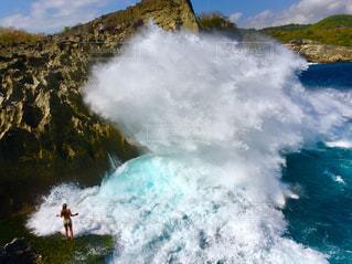 撮影地→バリ、ヌサペニダ島のAngel Billabong(エンジェル・ビラボン)の写真・画像素材[1247929]