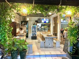 撮影地→バリ、クタ近辺のカフェ。の写真・画像素材[1247980]