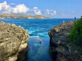 撮影地→バリ、ヌサペニダ島のAngel Billabong(エンジェル・ビラボン)の写真・画像素材[1248052]