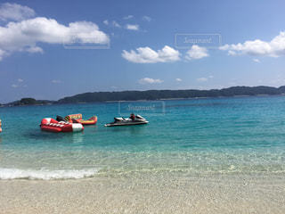 沖縄、古座間見ビーチの写真・画像素材[2804771]
