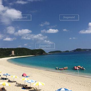 沖縄、古座間見ビーチの写真・画像素材[2804772]