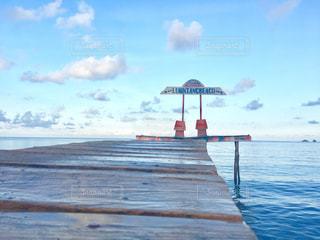 海外の桟橋の写真・画像素材[2952662]