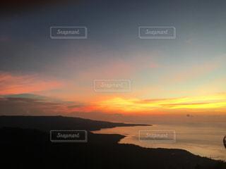 沈む夕日の写真・画像素材[2952654]