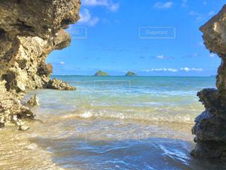 海外の双子岩の写真・画像素材[2952658]