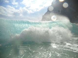 海の波の写真・画像素材[2952670]