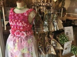 花のドレスの写真・画像素材[3369068]