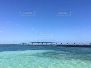 沖縄、伊良部大橋の写真・画像素材[4097140]
