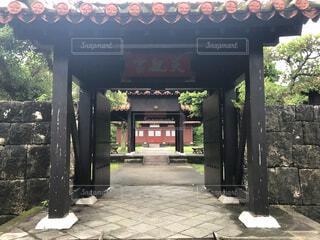 沖縄の古民家の写真・画像素材[4637064]