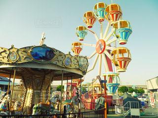 遊園地の写真・画像素材[275329]