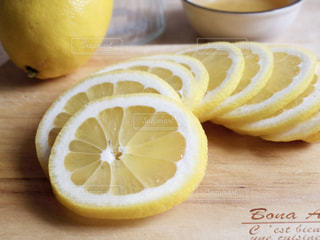 輪切りレモンの写真・画像素材[472741]