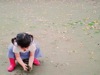 砂遊び - No.478127