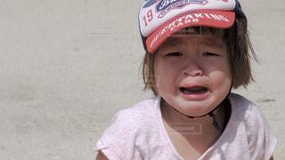 悲しい子供の顔 - No.538292