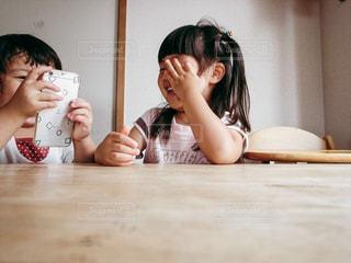 子供のおしゃべりの写真・画像素材[656096]