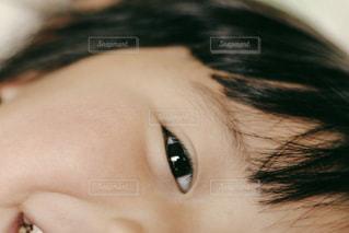 子供のアップの写真・画像素材[1069359]