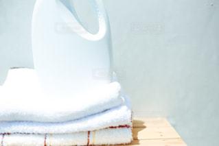 洗濯洗剤とボトルの写真・画像素材[1169209]