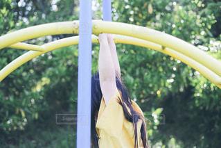 公園で遊ぶ子どもの写真・画像素材[1216195]