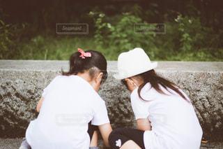 姉妹の休日の写真・画像素材[1290057]