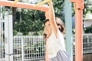 公園で遊ぶ子供の写真・画像素材[1399220]