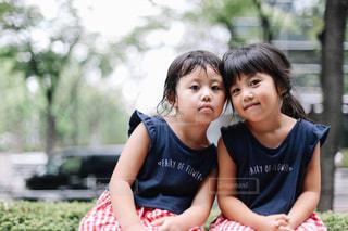 姉妹の写真・画像素材[1428899]