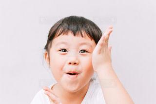 子供の楽しい顔の写真・画像素材[1483581]