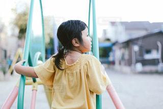 公園で遊ぶ子供の写真・画像素材[1576838]