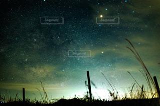 阿蘇の夜空の写真・画像素材[635475]